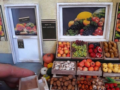 miniatűr zöldség gyümi