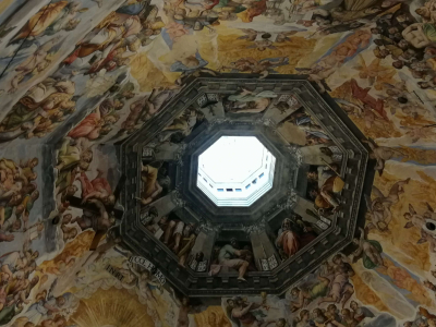 Dóm kupolája belülről - Firenze