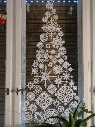 Csipke karácsonyfa