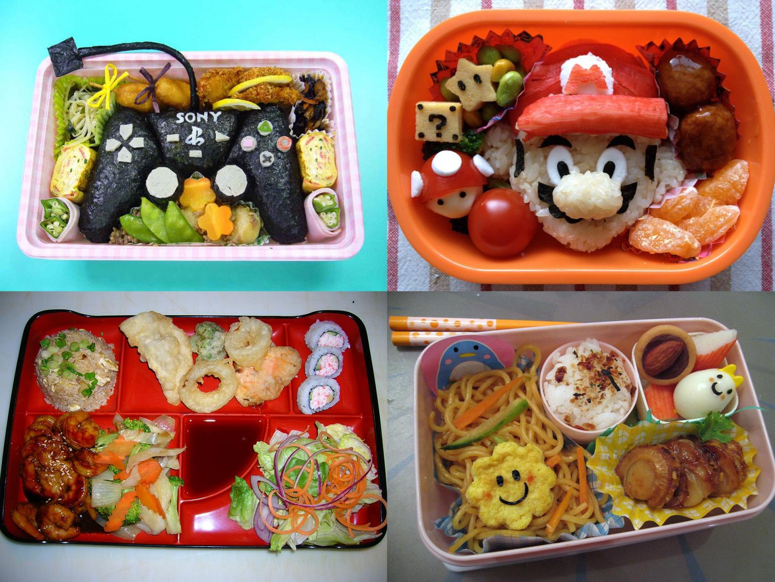 Bento ebédek gyerekeknek