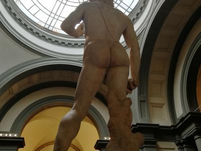 Michelangelo: Dávid szobor - Accademy Galleria Firenze